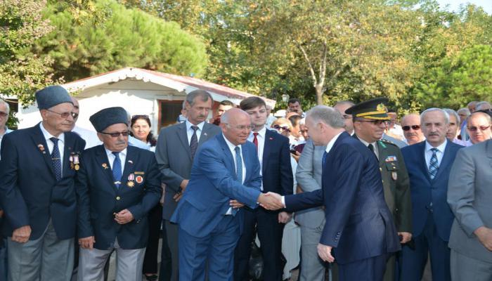 Atatürk'ün Tekirdağ'ı ziyareti ve Harf İnkılabının uygulanışının 88'inci yıl dönümü kutlandı