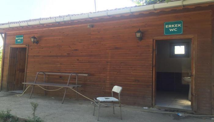Kınıklar Mahallesi'nde umumi tuvaletler ücretsiz olarak hizmet veriyor