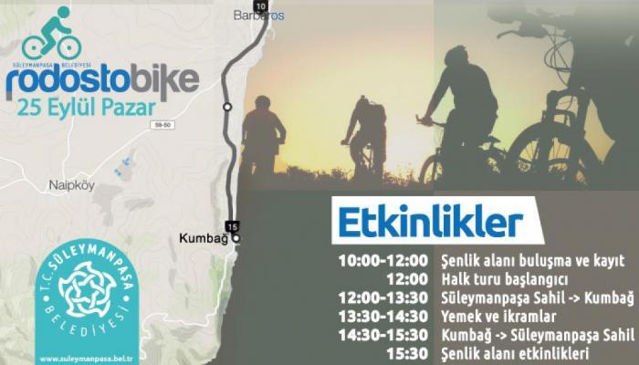 Trakya'nın en büyük bisiklet organizasyonu Rodostobike başlıyor