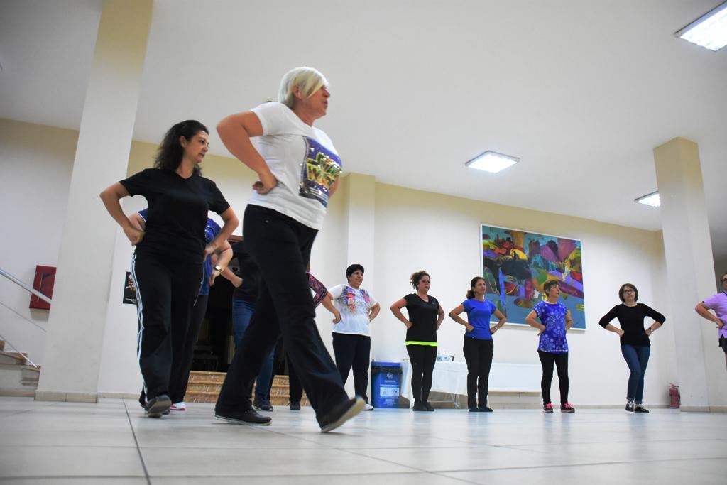 Süleymanpaşa Belediye Gençlik Spor halk oyunlarında Türkiye Finali'nde