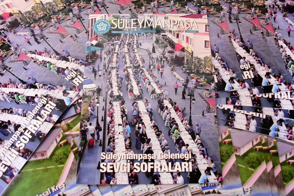 Süleymanpaşa Belediye Haber Gazetesi 35. sayısı ile her yerde