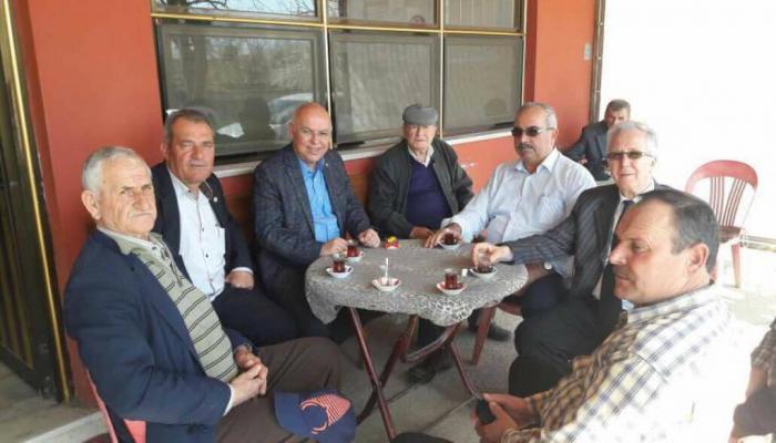 Başkan Eşkinat Selçuk ve Ferhadanlı'da mahalle sakinleri ile buluştu