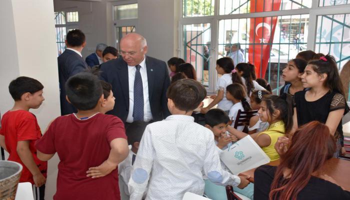 Süleymanpaşa Belediyesi Aydoğdu Mahallesi'nde eğitim seferberliği başlattı