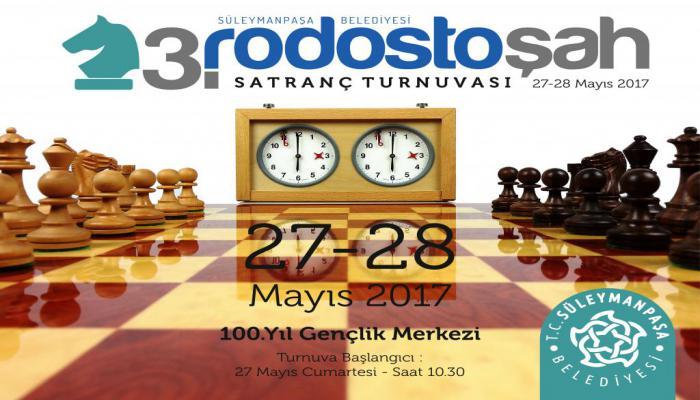 3. Rodostoşah Satranç Turnuvası başlıyor