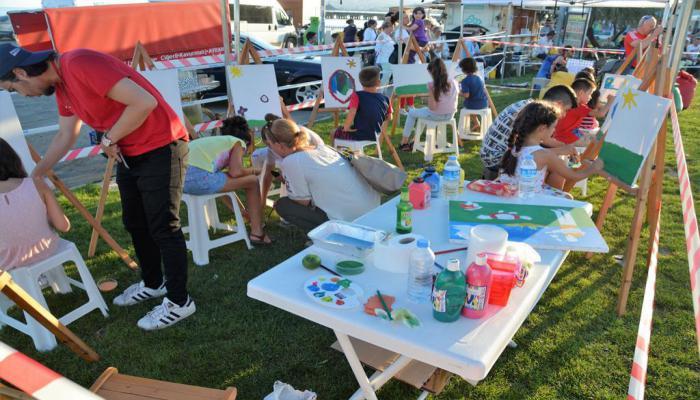 Çocuk Kulübü üyeleri yaz sonu şenliğinde doyasıya eğlendi