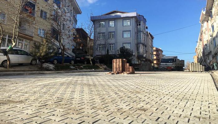 Süleymanpaşa Belediyesi yol yapım harekâtına devam ediyor