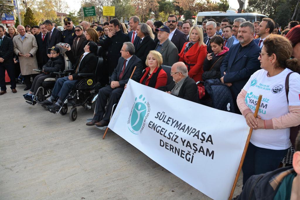 Başkan Eşkinat 3 Aralık Engelliler Günü törenine katıldı