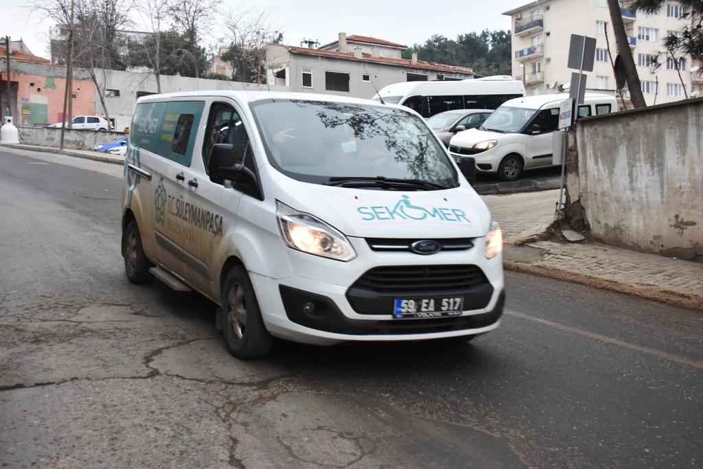 Engelsiz taksi 6 ayda 2301 vatandaşın ulaşımını sağladı