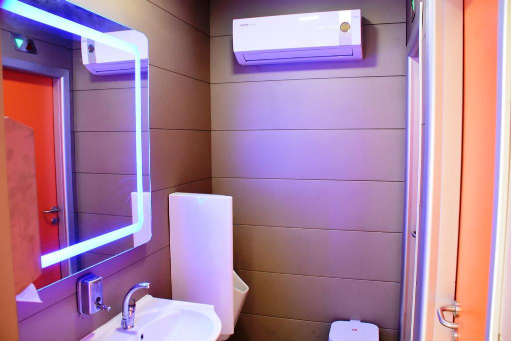 Süleymanpaşa Belediyesinden sahilde modern tuvalet hizmeti