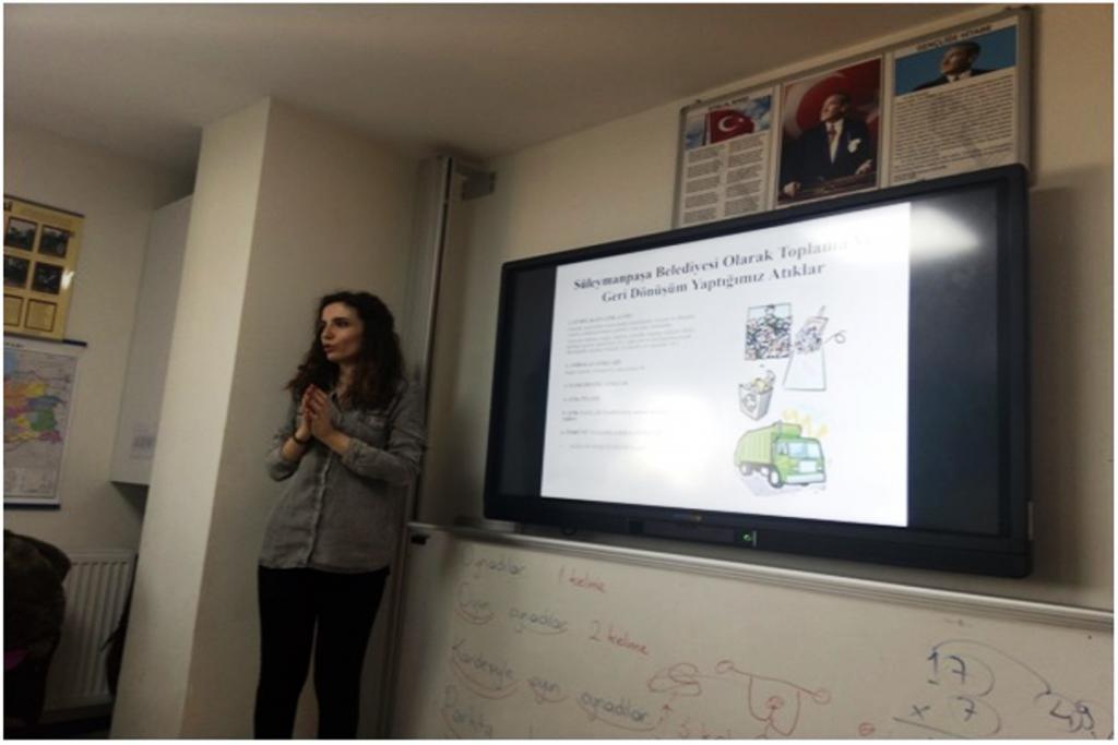 Süleymanpaşa Belediyesi'nden öğrencilere temel çevre bilinci eğitimi