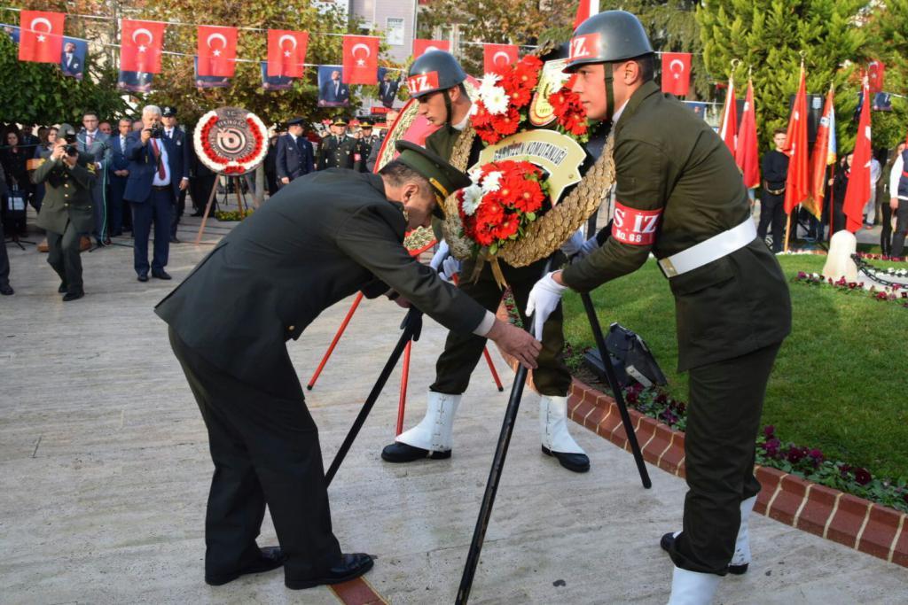 Tekirdağ'ın düşman işgalinden kurtuluşunun 95. yılı törenlerle kutlandı
