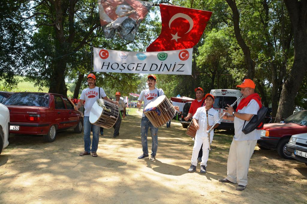Trakya'nın avcıları Süleymanpaşa'da 43. Avcı Bayramı'nda bir araya geldi