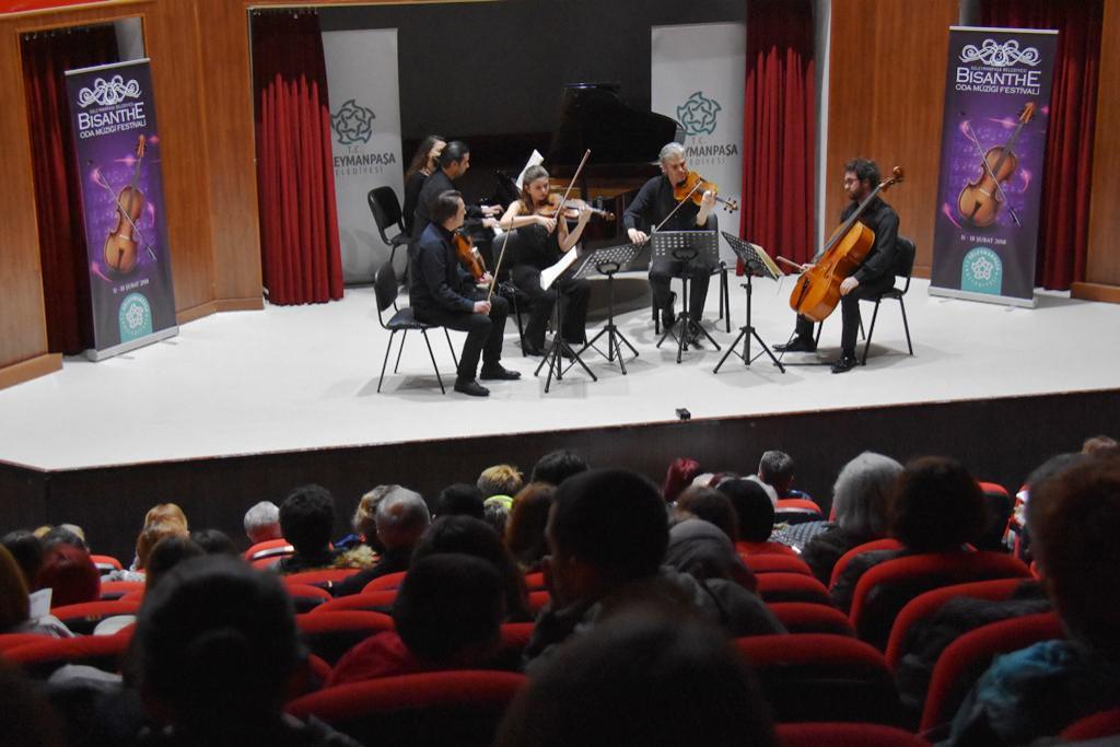 3. Bisanthe Oda Müziği Festivali BEGOA Ensemble konseri ile devam etti