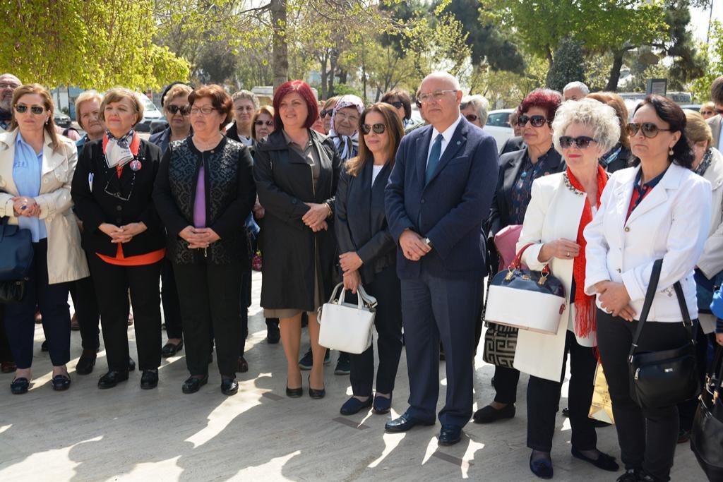 Başkan Eşkinat Türk Kadınlar Birliği kuruluş yıldönümü törenine katıldı