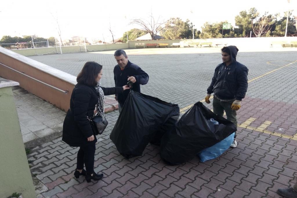 Daha yeşil bir çevre için Süleymanpaşa Belediyesi ile öğrenciler el ele