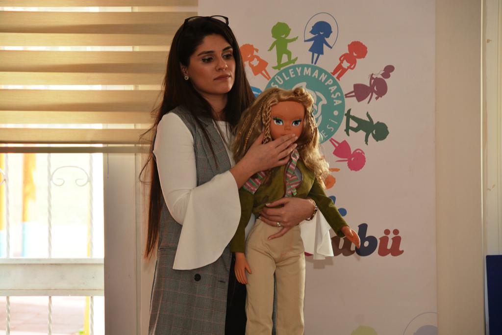 Süleymanpaşa Belediyesi Çocuk Ruh Sağlığı Merkezinden çocuklara istismardan korunma eğitimi