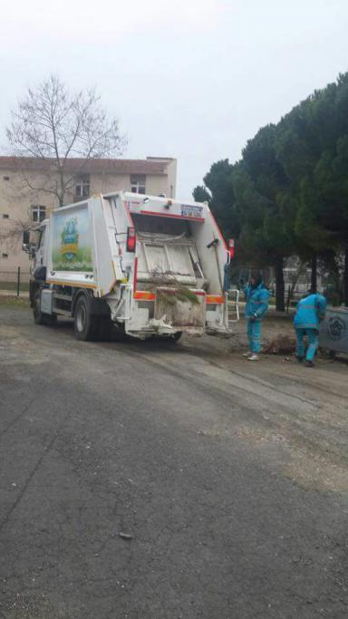 Süleymanpaşa Belediyesi tüm okulları temizledi