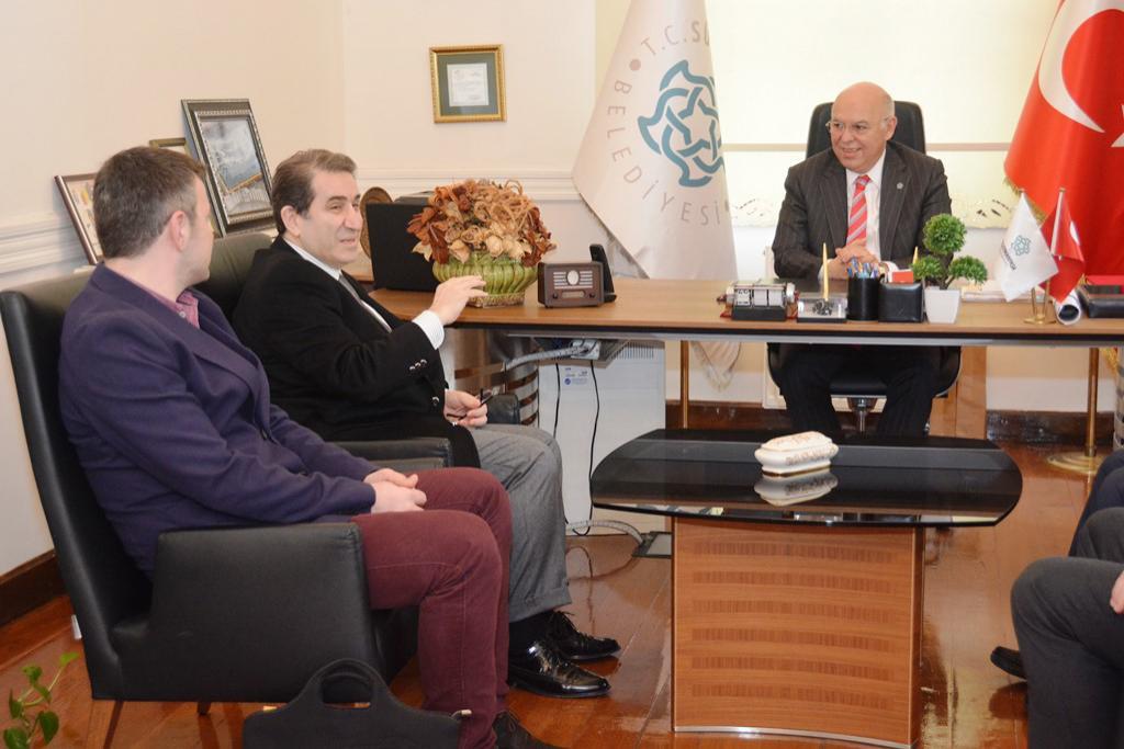 Başkan Eşkinat TEGV temsilcilerini ağırladı
