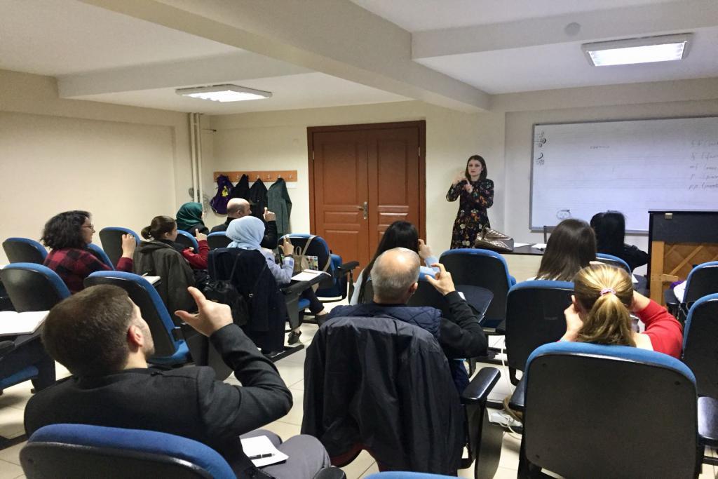 EKPSS ve İşaret Dili kursları başladı
