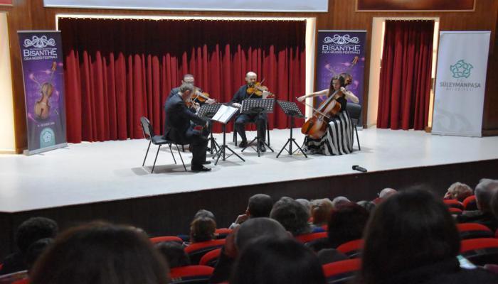 Bisanthe Oda Müziği Festivali Bisanthe Quartet konseri ile sona erdi