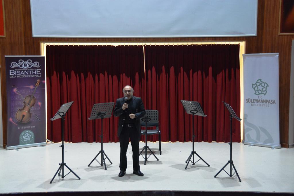3. Bisanthe Oda Müziği Festivali Golden Horn Brass konseri ile başladı