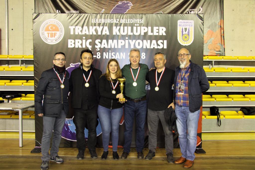 Süleymanpaşa Belediyesi Spor Kulübü briçte de iddialı