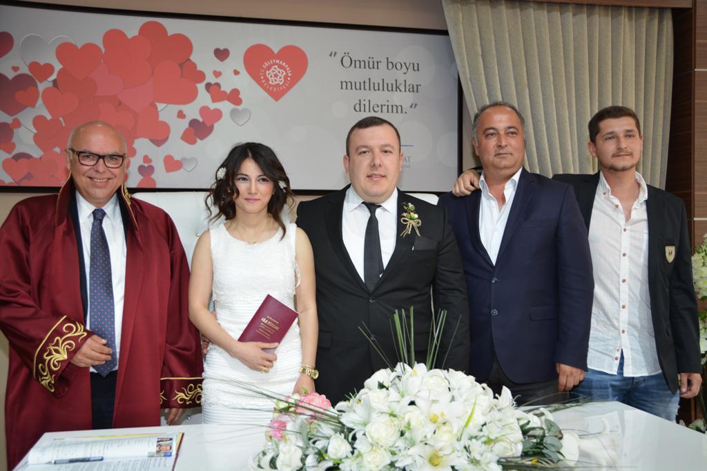 2017'de Süleymanpaşa Belediyesi ile 1351 çift dünya evine girdi