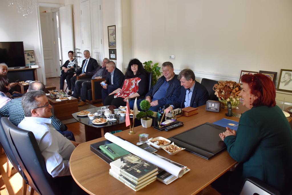 11 Bulgar Belediye Başkanı Süleymanpaşa Belediyesi'ni ziyaret etti