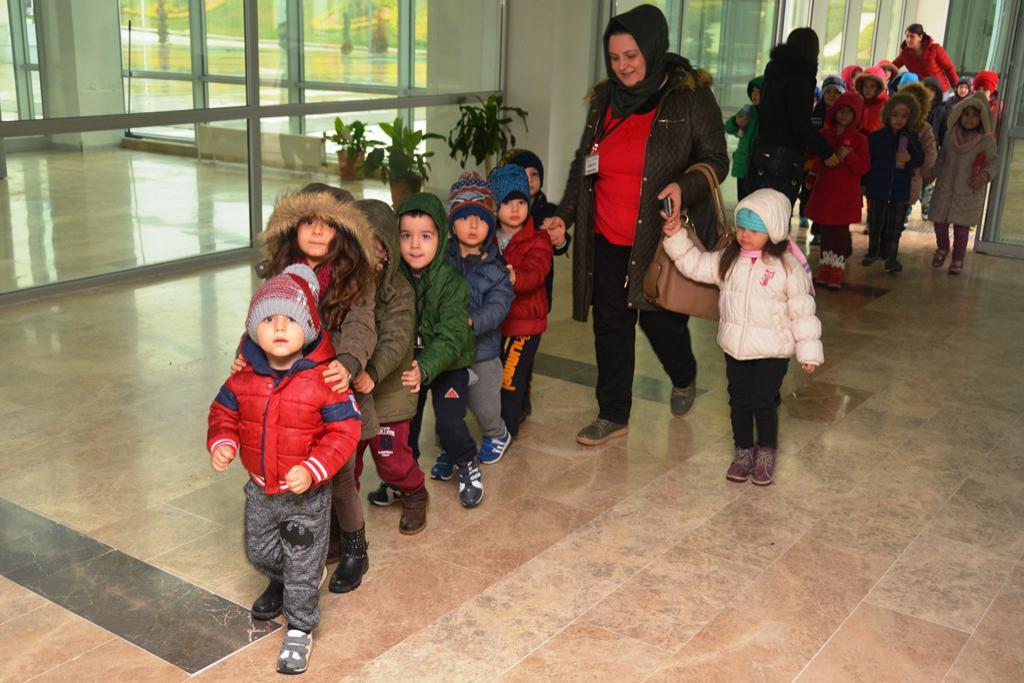 Fareli Köyün Kavalcısı Süleymanpaşalı miniklerle buluştu