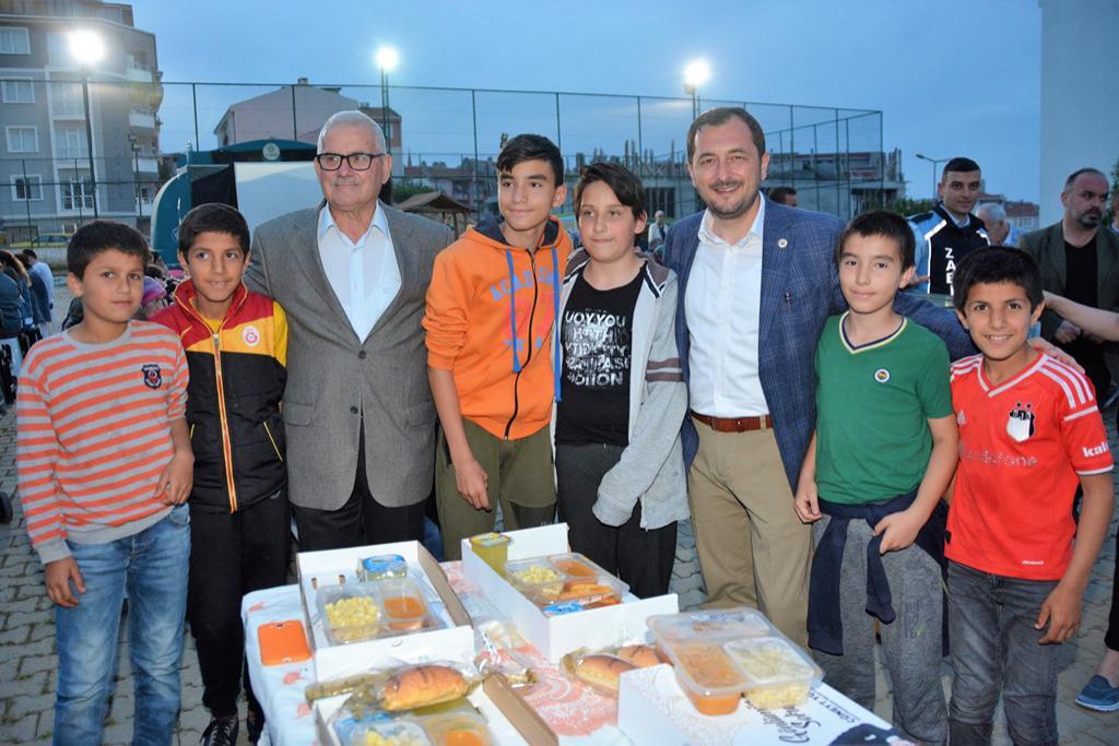Başkan Yüksel Gündoğdu Mahallesi sakinleri ile Gönül Sofrasında buluştu