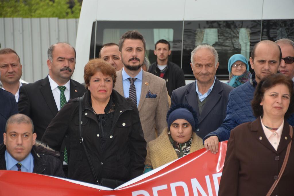 Başkan Yardımcısı Sabri Çınar Engelliler Haftası çelenk törenine katıldı