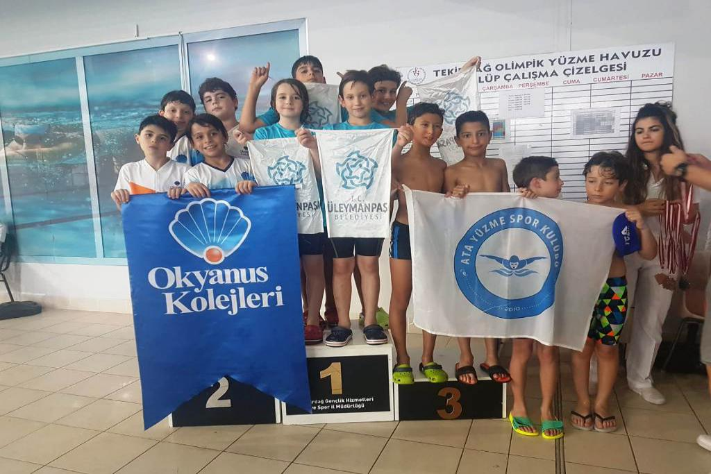Süleymanpaşa Belediyesi Spor Kulübü Yüzmede 10 madalya kazandı