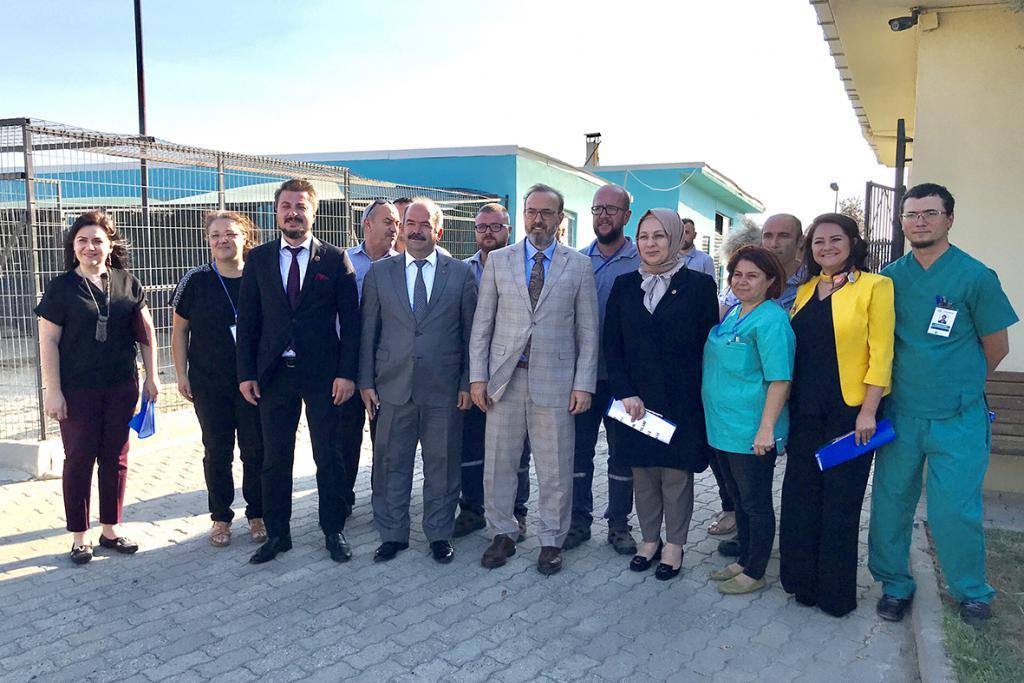"""TBMM Komisyon Başkanı Yel: """"Süleymanpaşa Belediyesi'nin uygulaması, yeni hayvan hakları yasasına altlık olacak"""""""
