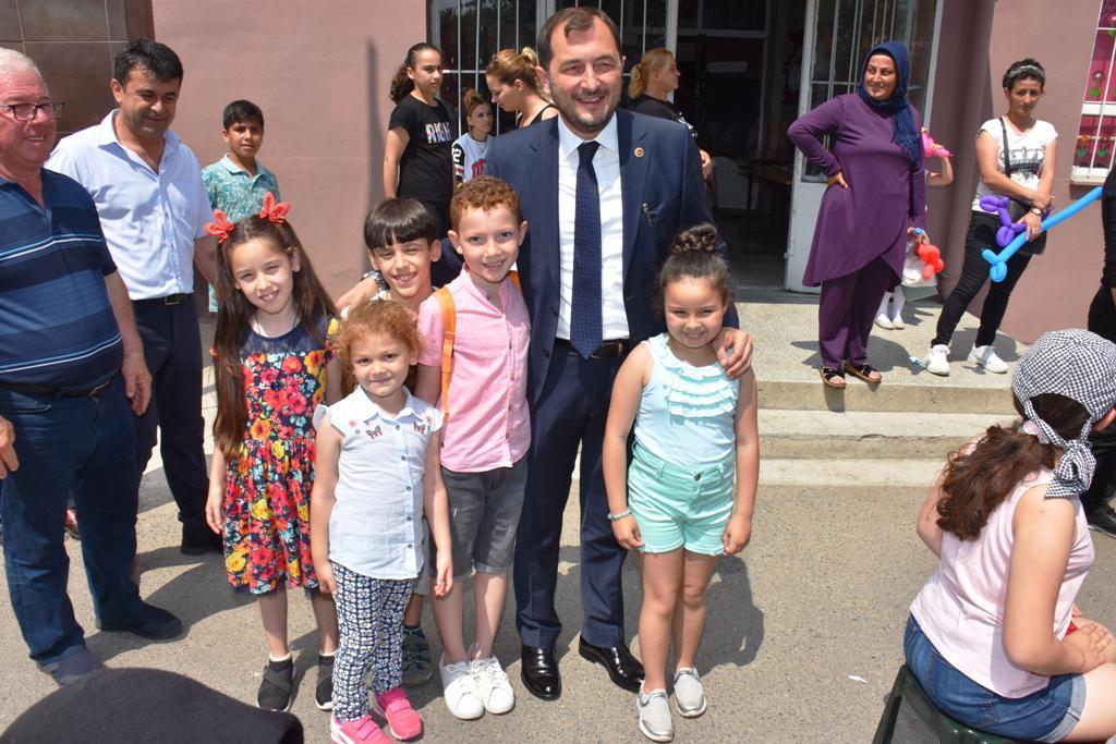 Süleymanpaşalı çocuklar karne şenliğinde buluşuyor
