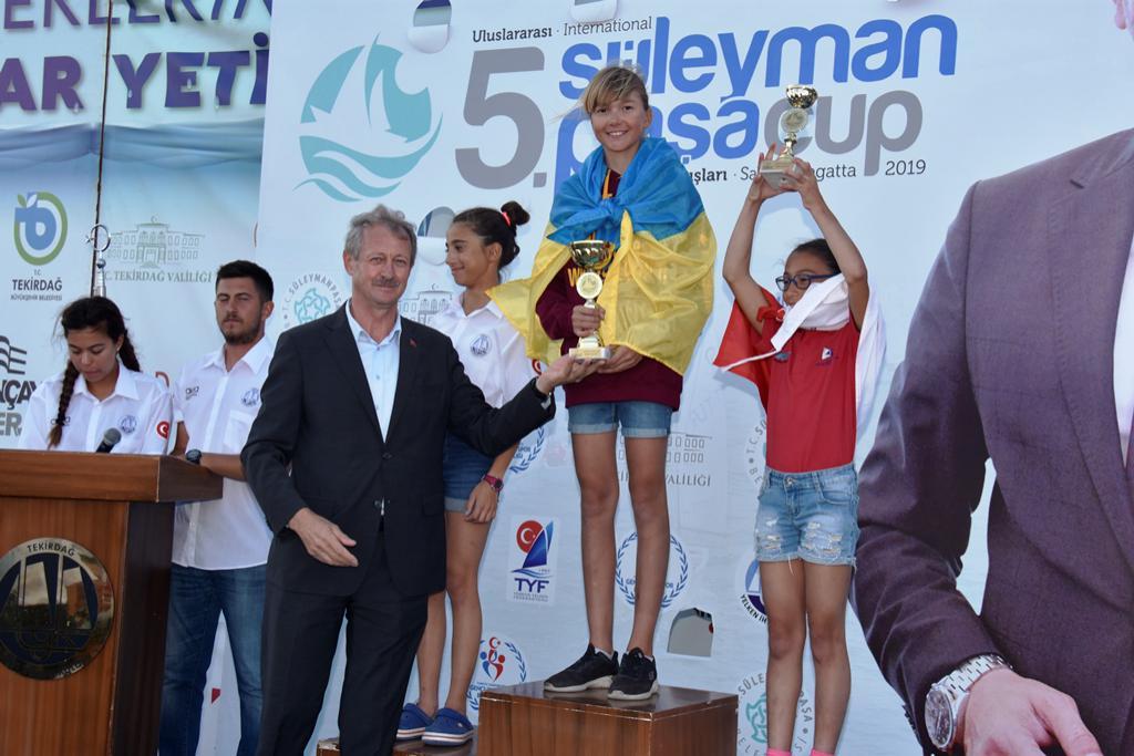 5. Uluslararası Süleymanpaşa Optimist Kupası ödül töreni ile sona erdi