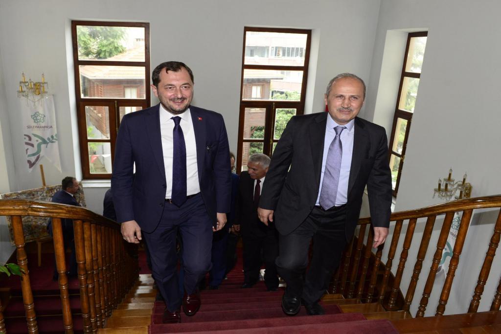 Bakan Turhan, Başkan Yüksel'i ziyaret etti
