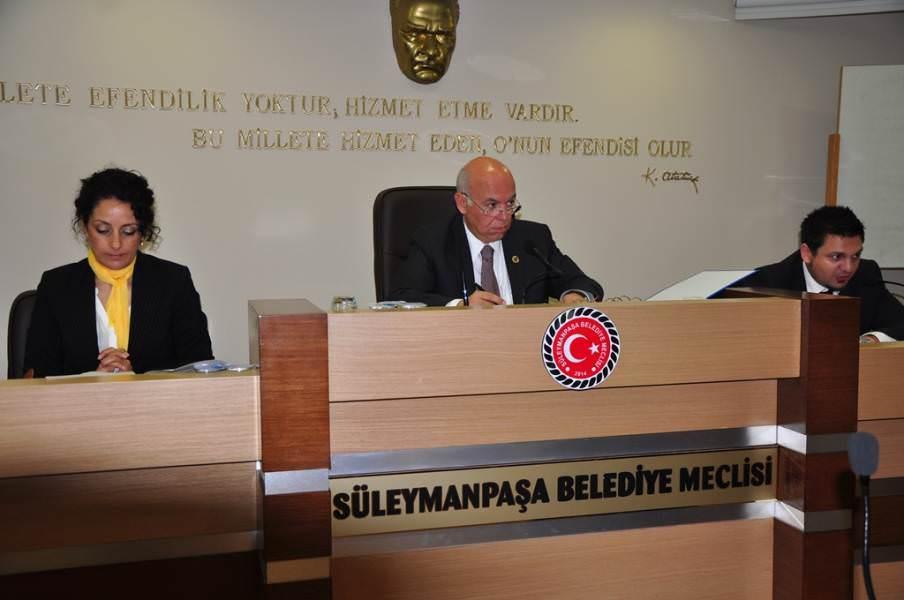 Süleymanpaşa Belediyesi Mayıs Ayı Olağan Toplantısı Yapıldı