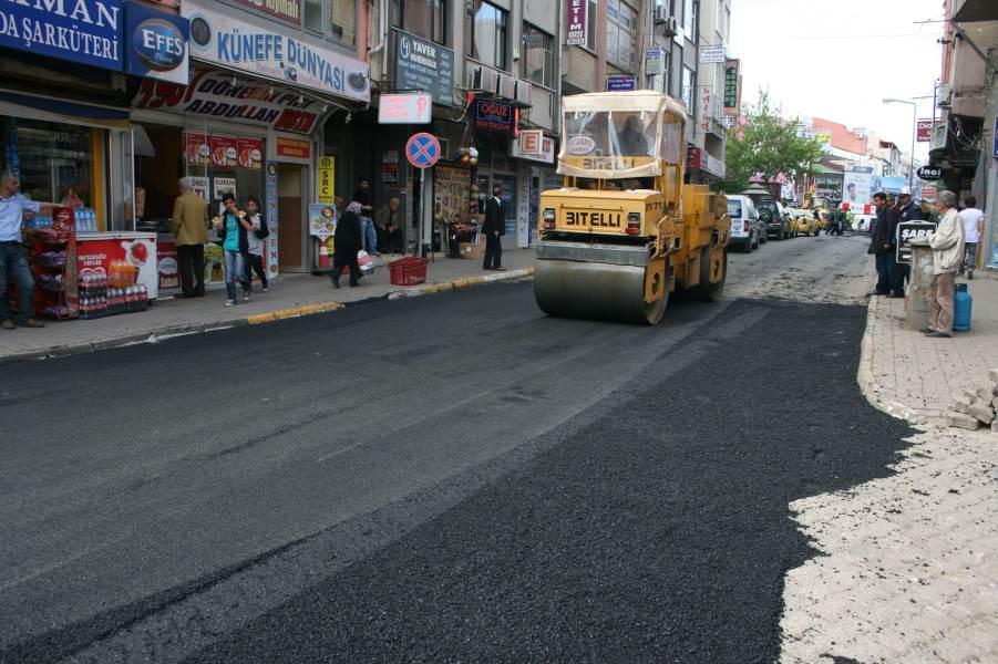 Süleymanpaşa Belediyesi yol onarım çalışmalarına başladı