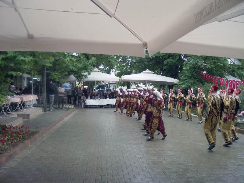 50. Tekirdağ Kiraz Festivali açılışı Naip Mahallesi'nde yapıldı