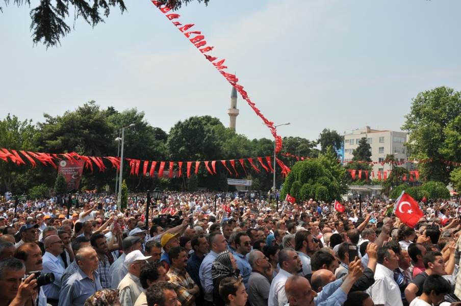 Cumhurbaşkanı Abdullah Gül Süleymanpaşa'da