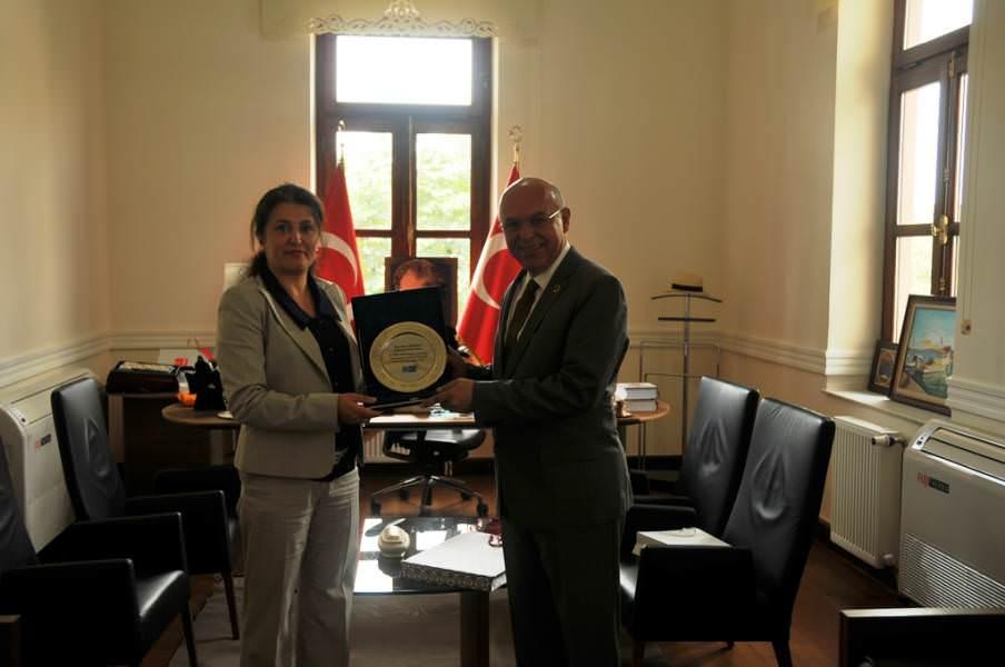 Türk Telekom İl Müdürü Başkan Eşkinat'ı ziyaret etti
