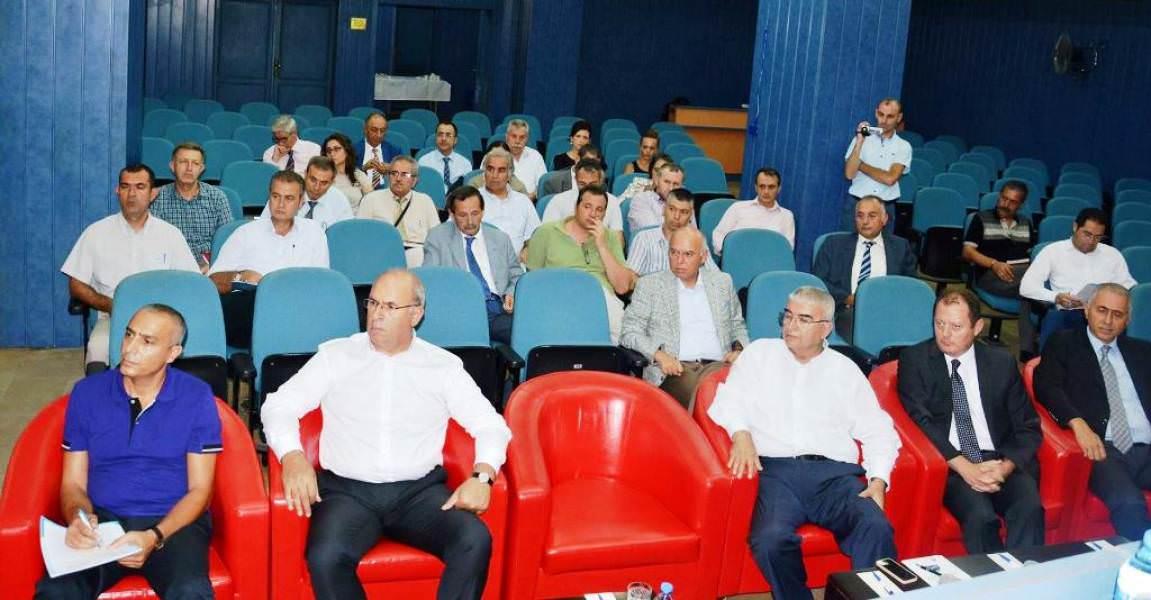 Başkan Eşkinat Tekirdağ Büyükşehir Belediyesi Stratejik Planlama çalıştayına katıldı