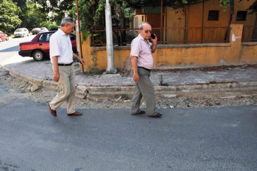 Başkan Yardımcısı Telat Akköse sorunlu yollarda incelemelerde bulundu