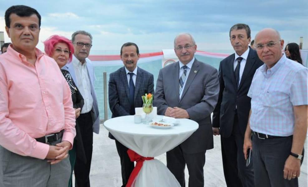 Süleymanpaşa Belediye Başkanı Eşkinat Adli Yıl Açılış kokteyline katıldı