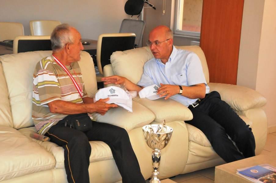 77 yaşındaki maratoncu Süleymanpaşa'yı temsil edecek