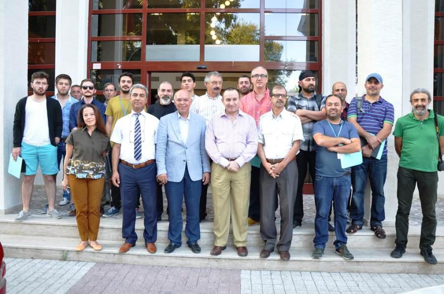 """""""14 Ressam 14 Süleymanpaşa"""" projesinde eserler görücüye çıktı"""