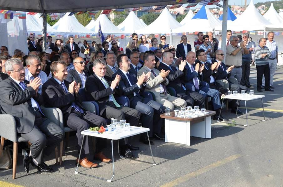 Başkan Eşkinat, Karadeniz Havzası Tanıtım Günleri Fuarının Açılışını Yaptı