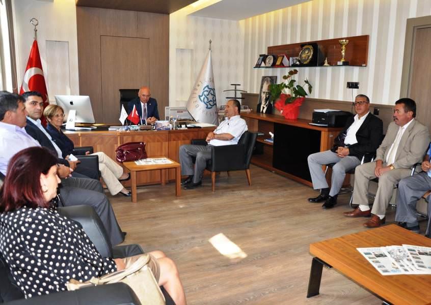 Kardeş Belediye, Kepez'den  belediyemize ziyaret
