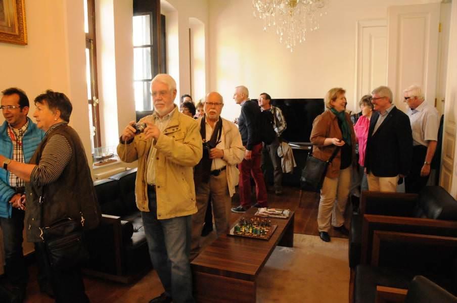Kardeş şehir Bayreuth'tan sürpriz ziyaret