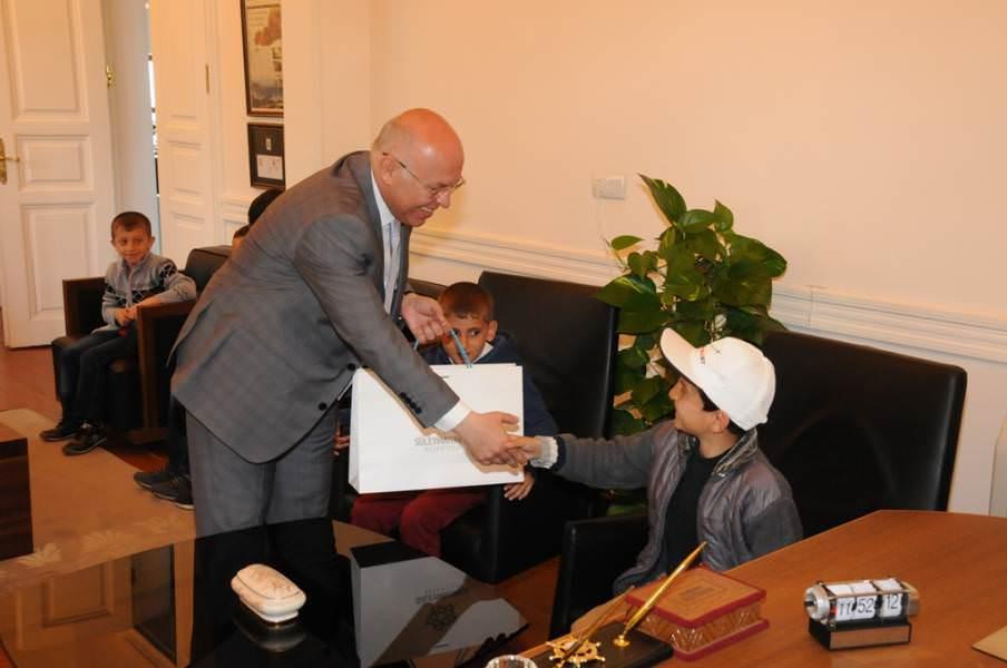 Kardeş şehir Bitlis'in çocukları da Süleymanpaşa Çocuk Şenliği'nde